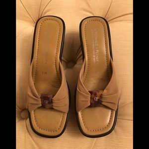 Donald J Pliner stretch sandals